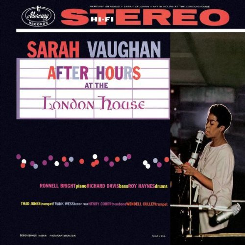 Sarah Vaughan After Hours At The