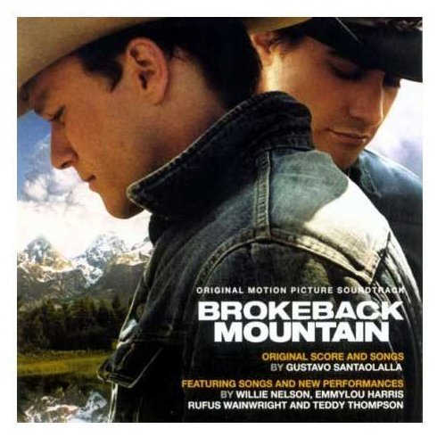 Various Artists Brokeback Mountain Harris Nelson Santaolalla Thompson Wainwright