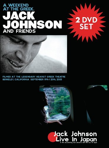 Jack Johnson Weekend At The Greek & Live In 2 DVD