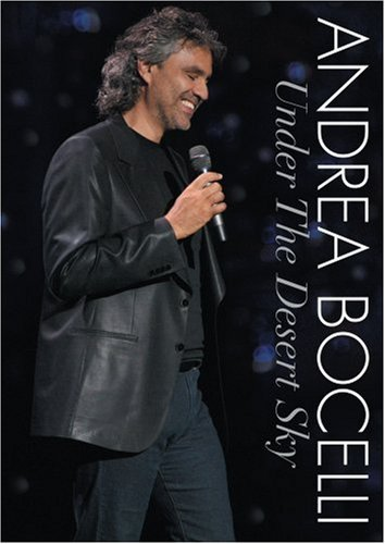 Andrea Bocelli Under The Desert Sky Ws Incl. Bonus CD