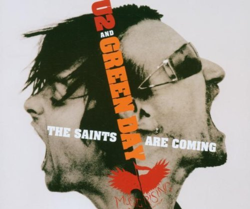 U2 Green Day Saints Are Coming Import Can