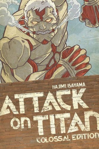 Hajime Isayama Attack On Titan Colossal Edition Volume 3