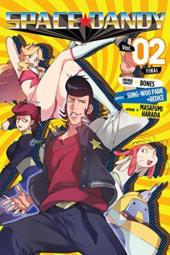 Masafumi Harada Space Dandy Volume 2