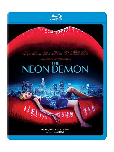 Neon Demon Fanning Hendricks Reeves Blu Ray R
