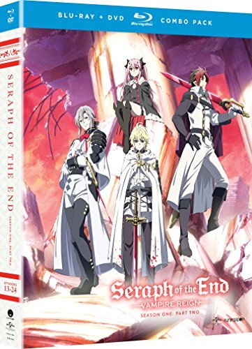 Seraph Of The End Vampire Reign Season 1 Part 2 Blu Ray DVD