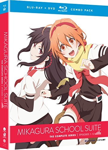 Mikagura School Suite The Complete Series Blu Ray DVD