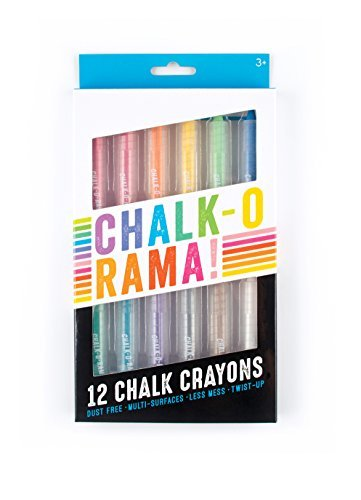 International Arrivals Chalk O Rama Chalk Crayons Set Of 12