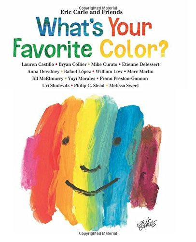 Eric Carle What's Your Favorite Color?