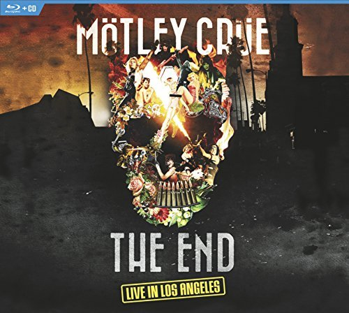 Mötley Crüe The End Live In Los Angeles Blu Ray CD Combo Incl. Bonus DVD