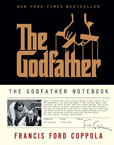 Francis Ford Coppola The Godfather Notebook