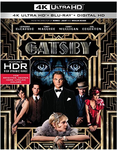Great Gatsby (2013) Dicaprio Maguire Mulligan 4khd Pg13