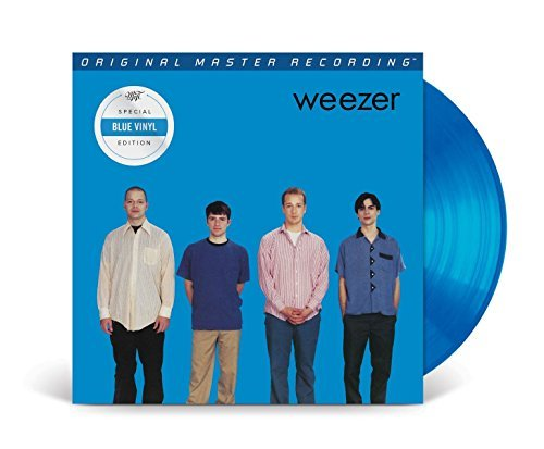 Weezer Weezer (blue Album On Blue Marbled Vinyl) 180 Gram Audiophile Remastered Vinyl Limited Numb