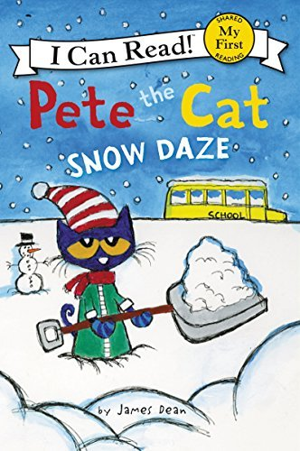 James Dean Pete The Cat Snow Daze