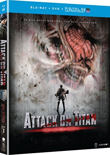 Attack On Titan The Movie Part 1 Blu Ray