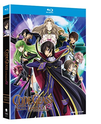Code Geass Lelouch Of Rebellion Season 2 Blu Ray