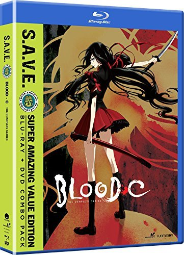 Blood C The Complete Series Blu Ray