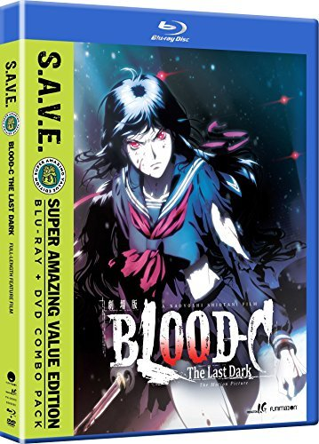 Blood C Last Dark Blu Ray