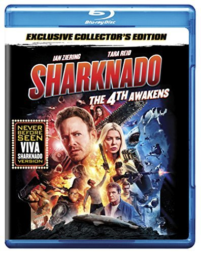 Sharknado The 4th Awakens Reid Ziering Hasselhoff Blu Ray Nr