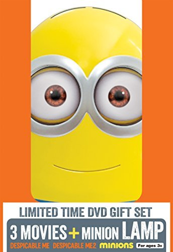 Despicable Me 3 Movie Collection DVD Minion Lamp Pg