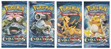 Pokemon Cards Evolutions Booster Pack