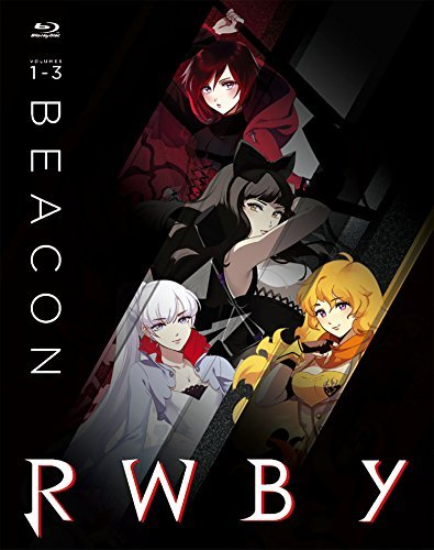 Rwby Volumes 1 3 Blu Ray Beacon Steelbook