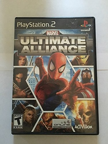 Ps2 Marvel Ultimate Alliance
