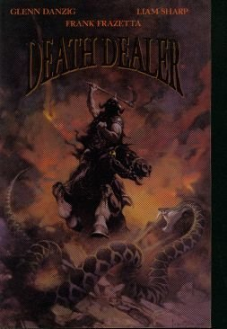 Glenn Danzig Frank Frazetta & Liam Sharp Death Dealer #2 May 1996