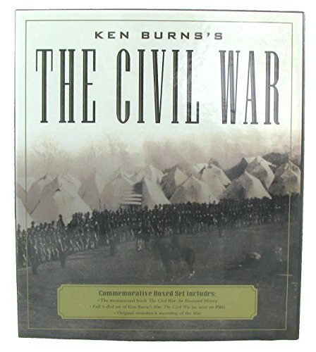 Geoffrey C. Ward The Civil War Commemorative Boxed Set Book+6 Dvd+soundtrack
