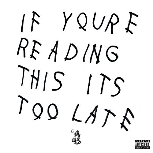 Drake If You're Reading This It's Too Late 2 Lp