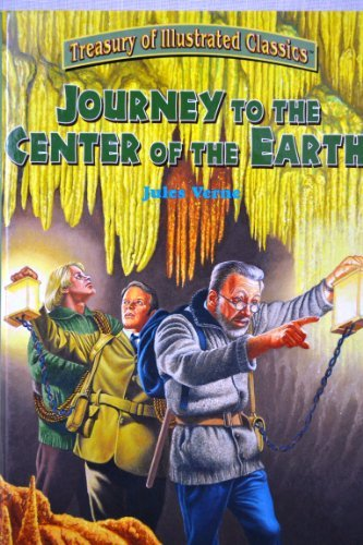Jules Verne Journey To The Center Of The Earth Treasury Of Illustrated Classics