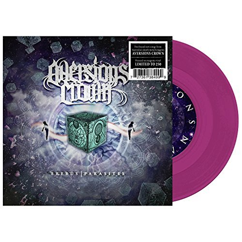 "Aversions Crown Erebus Parasites 7"" (magenta)"