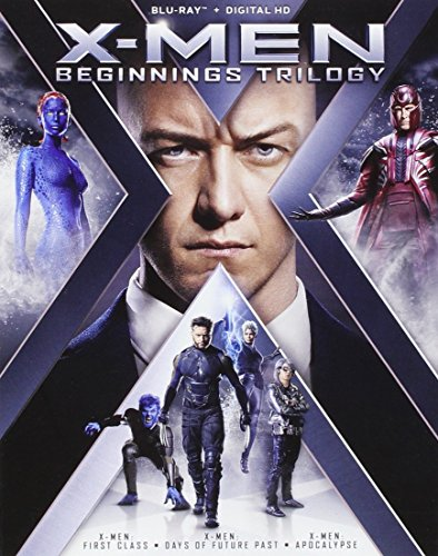 X Men Beginnings Trilogy Blu Ray Nr