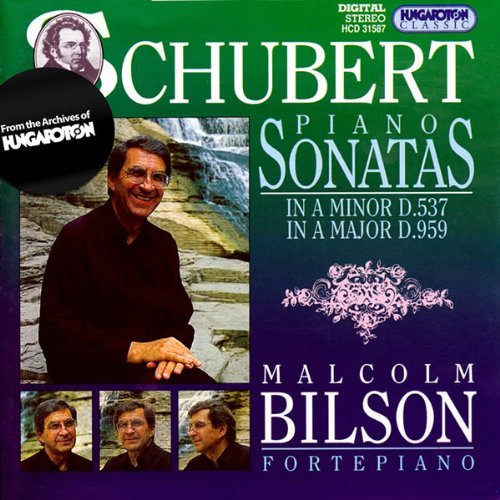Franz Schubert Piano Sonatas In A Minor D.537 Malcolm Bilson