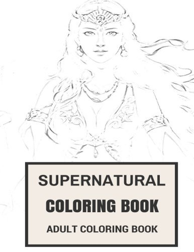 Supernatural Coloring Book Supernatural Coloring Book Wicca And Witchcraft Supernatural Reincarnation I