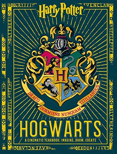 Scholastic Harry Potter Hogwarts A Cinematic Yearbook