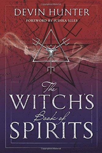 Devin Hunter The Witch's Book Of Spirits