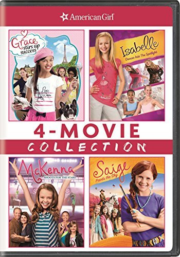 American Girl 4 Movie Collection DVD