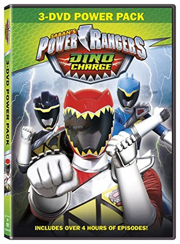 Power Rangers Dino Charge 3 DVD Power Pack DVD