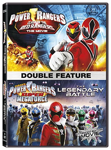 Power Rangers Clash Of The Red Ranger Legendary Battle Double Feature DVD
