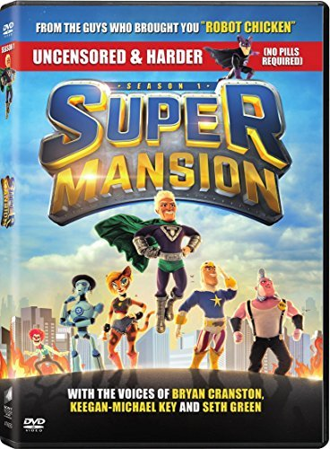 Supermansion Season 1 DVD