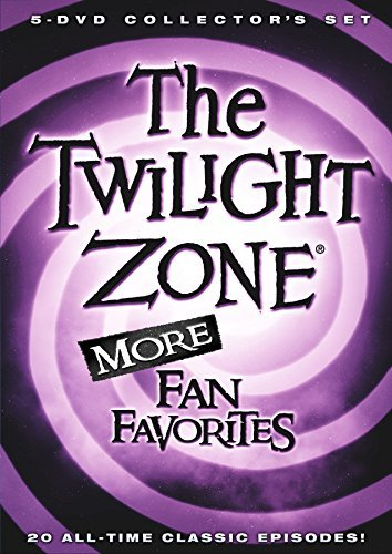 Twilight Zone More Fan Favorites DVD 5 Disc Collection