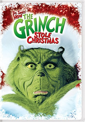 How The Grinch Stole Christmas (2000) Carrey Tambor Baranski Momsen DVD Pg