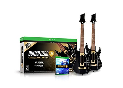 Xbox One Guitar Hero Supreme Party Edition Bundle (2 Guitars)
