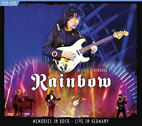 Ritchie Blackmore's Rainbow Memories In Rock Live In Germany 2 CD Blu Ray Combo