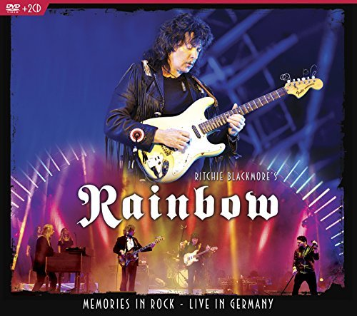 Ritchie Blackmore's Rainbow Memories In Rock Live In Germany 2 CD DVD Combo