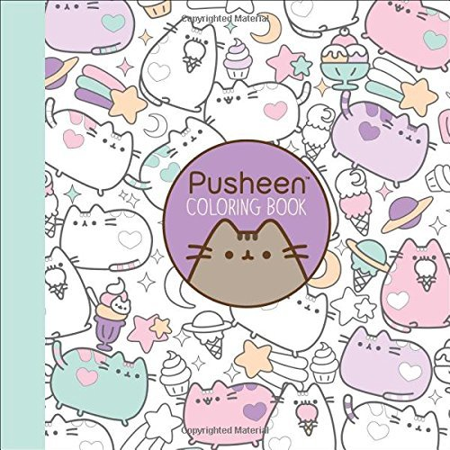 Claire Belton Pusheen Coloring Book