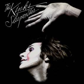 The Kinks Sleepwalker Black & White Swirl Vinyl