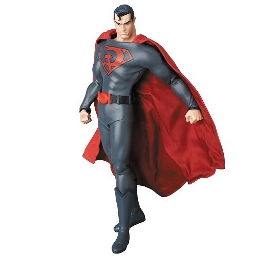 Statue Red Son Superman Px Rah