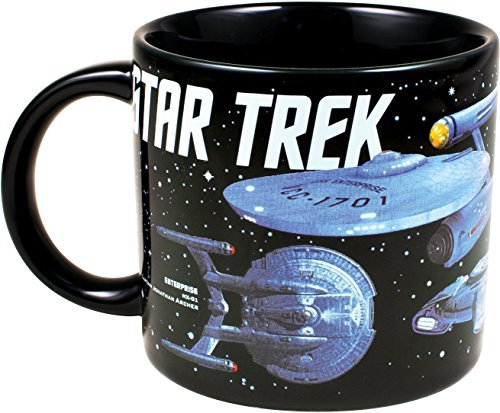 Mug Starships Of Star Trek