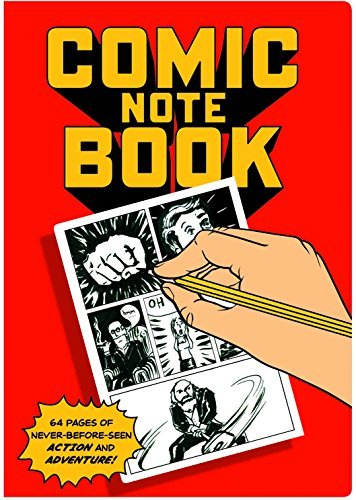 Notebook Comic Note Book